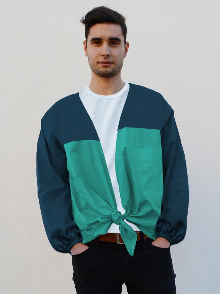 Camisa de fiestas en algodón para hombre