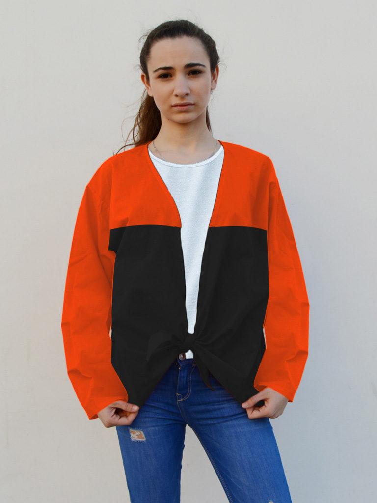 Camisa de fiestas en algodón para mujer