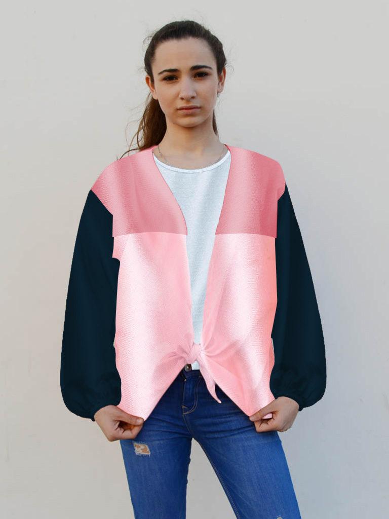Camisa para fiestas en raso para mujer